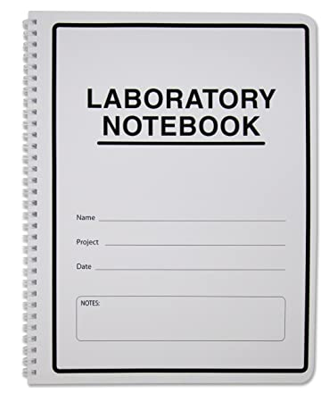 Amazon.com : BookFactory® Carbonless Lab Notebook (Scientific Grid ...