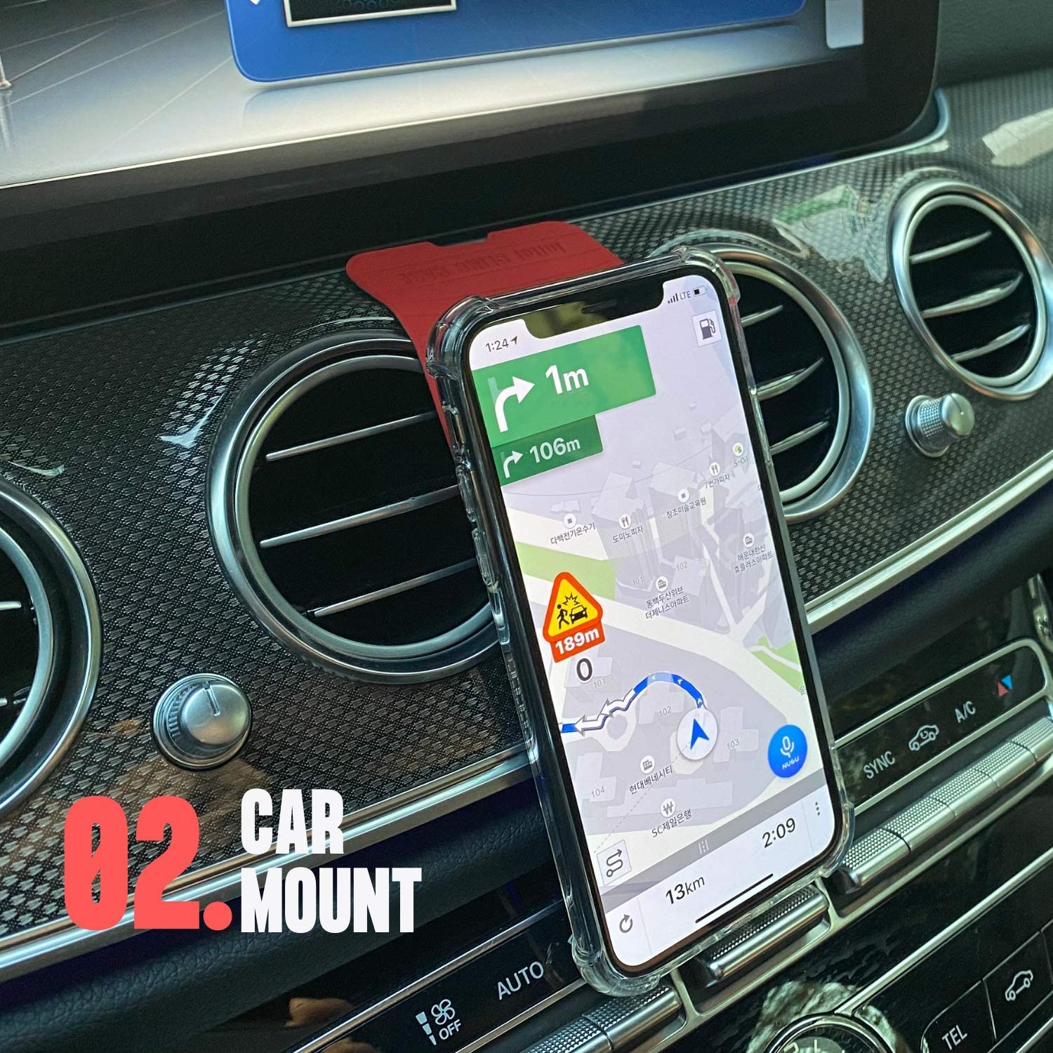 Bike Phone Mount Holder Car Mount for Cell Phone Car Mount CLING Cellphone Holder for Car Gray Compatible with Samsung Note 10 Plus Car Phone Mount Car Car Cell Phone Holder for Car