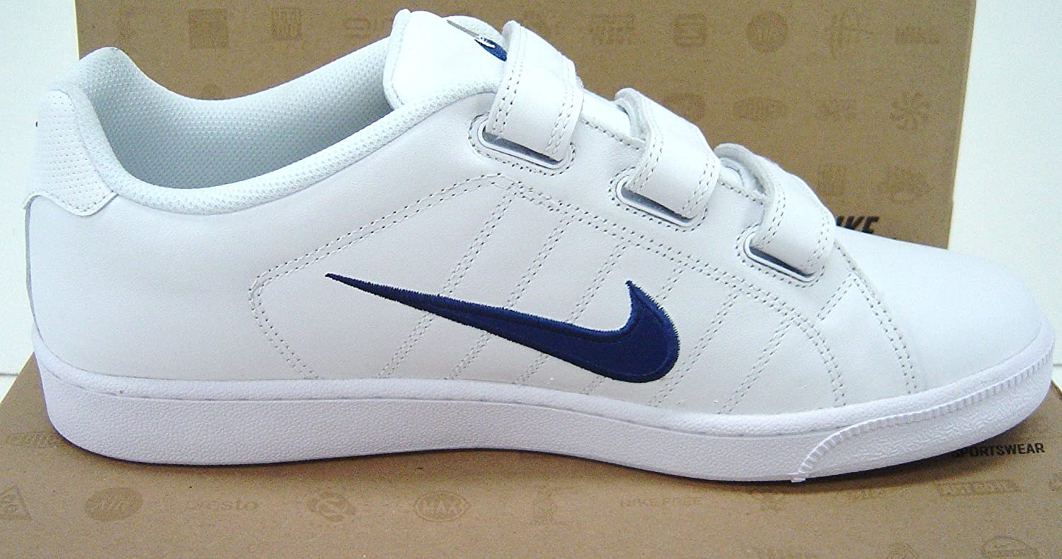 nike mens trainers white velcro