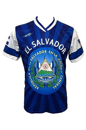 947ad1d30 Amazon.com  ARZA New El Salvador Men s Soccer Jersey USA Proud Shirt ...