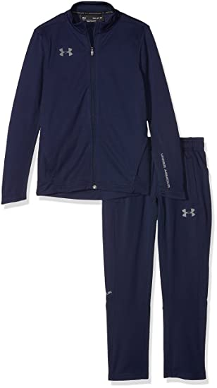 b643bc7cc Under Armour Y Challenger Ii Knit Warm-Up Boy's Training Suit, Midnight Navy  /