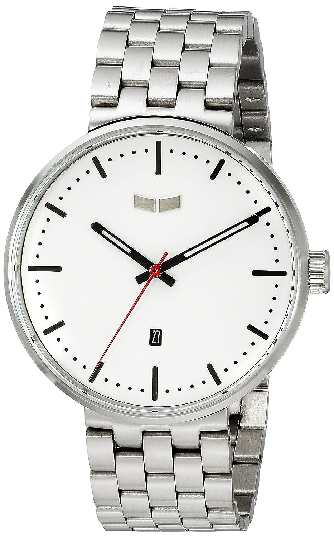 Vestal ros3 m003 Roosevelt Metall Armbanduhr - Silber-Weiß