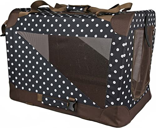 Folding Zippered 360 Vista View House Pet Crate