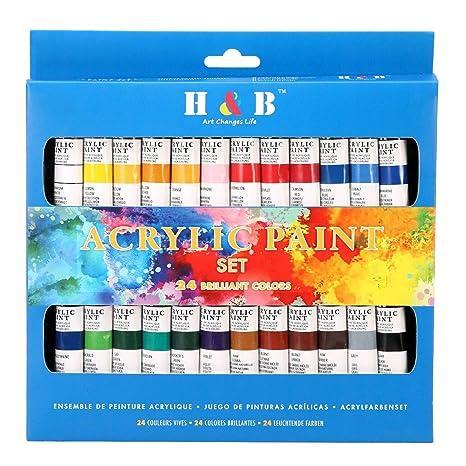 Juego De Pintura Acrílica De Color Technik Calidad De