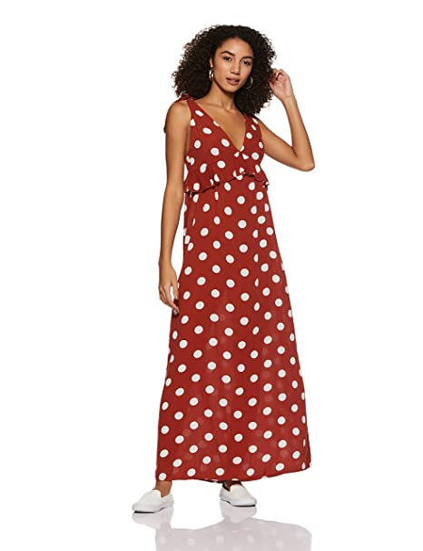1919568a54e Forever 21 Women s Empire Maxi Dress  Amazon.in  Clothing   Accessories