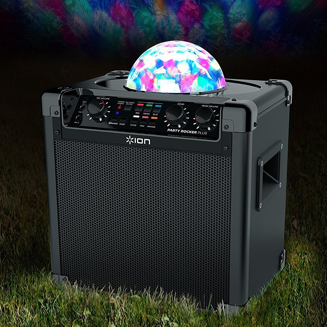 Ion Audio Party Rocker Max | Wireless Rechargeable Speaker with Multi-Effect Party Lights Ion Audio - MI Accessory Electronics Home Audio & Theater