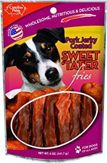 product image for Carolina Prime Pet 45041 Pork Coated Sweet Tater Fries Treat For Dogs ( 1 Pouch), One Size