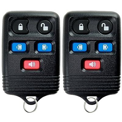 KeylessOption Keyless Entry Remote Control Car Key Fob Replacement for CWTWB1U511 (Pack of 2): Automotive