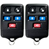 KeylessOption Keyless Entry Remote Control Car Key Fob Replacement for CWTWB1U511 Pack of 2