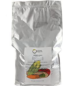 """Azomite Rock Dust Volcanic Ash (Certified Dealer) Trace Minerals""""Greenway Biotech Brand"""" 25 Pounds"""