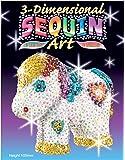 KSG Arts et crafts paillettes 3D Art 0923Pony 3D Modèle en polystyrène Kit