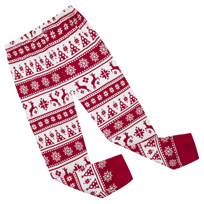 Girls Pajamas 100/% Cotton Reindeer Toddler Clothes Kids Christmas ...