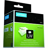 "Dymo 30252 LabelWriter LW Adhesive White Mailing Address Labels 1 1/8"" x 3 1/2"" (28 x 89 mm); Retail Box With 2 Rolls of 350 Labels per Roll, For a Total of 700 Labels"