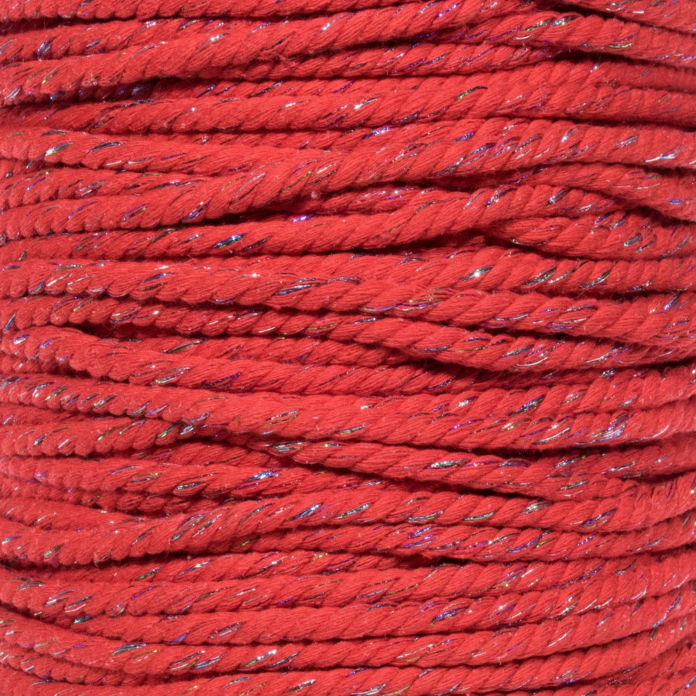 1//4-Inch-Thick Twisted Cotton Macram/é Craft Rope 50 and 100 Feet West Coast Paracord Lengths of 10 25 Large Variety of Color and Pattern Options