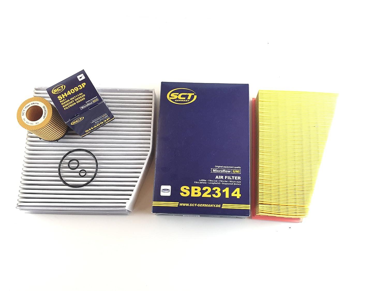 Inspektionskit Filter Kit Filter Set Service Kundendienst Ö lfilter Luftfilter Aktivkohle W246 W242 160 180 200 220 250 Benzin & B200 Natural Gas Drive/B200 c Maxgear/SCT