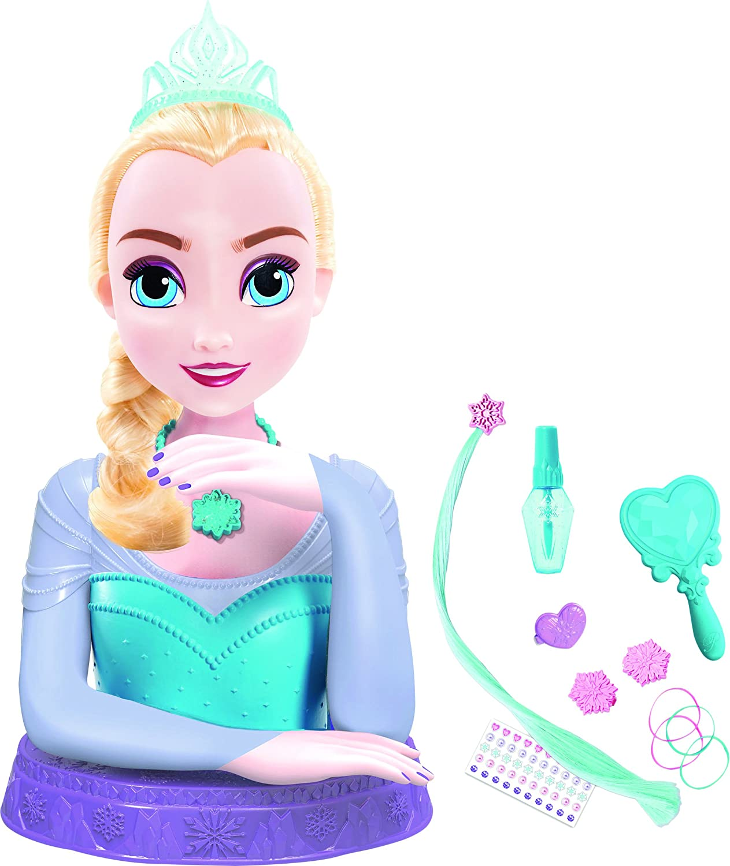 /Styling Head /Luxury Disney Elsa The Snow Queen/ IMC Toys BMI 16842/