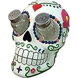 Sugar 'N Spice Sugar Skull Salt and Pepper Shaker Set By DWK