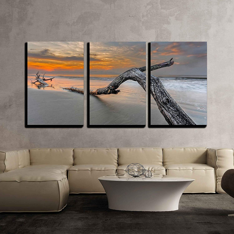 49244e8fccc Amazon.com  wall26 - Beach in Hilton Head Island - Canvas Art Wall Decor -  16