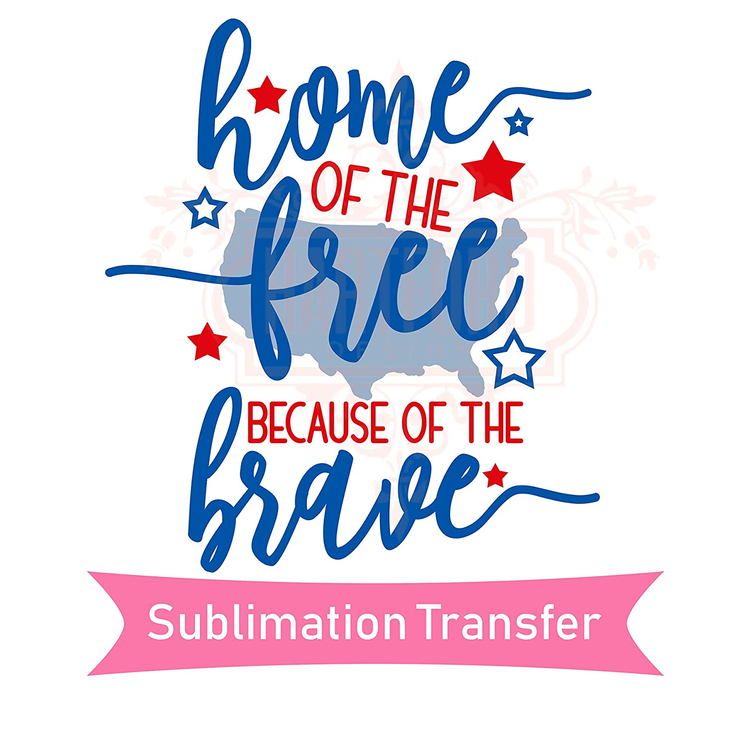 5db0fd448a676 Amazon.com: 4th of July Independence Day Sublimation Transfer Ready ...