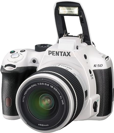 Pentax K 50 Kit WeiÌÙ Dal 18 55 Wr 50 200 Wr Kamera