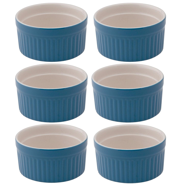 Mrs. Anderson's Baking Ramekin, Ceramic Earthenware, Blueberry, 2.5-Inch, 2-Ounce Capacity Harold Import Company Inc. 98002BB-6