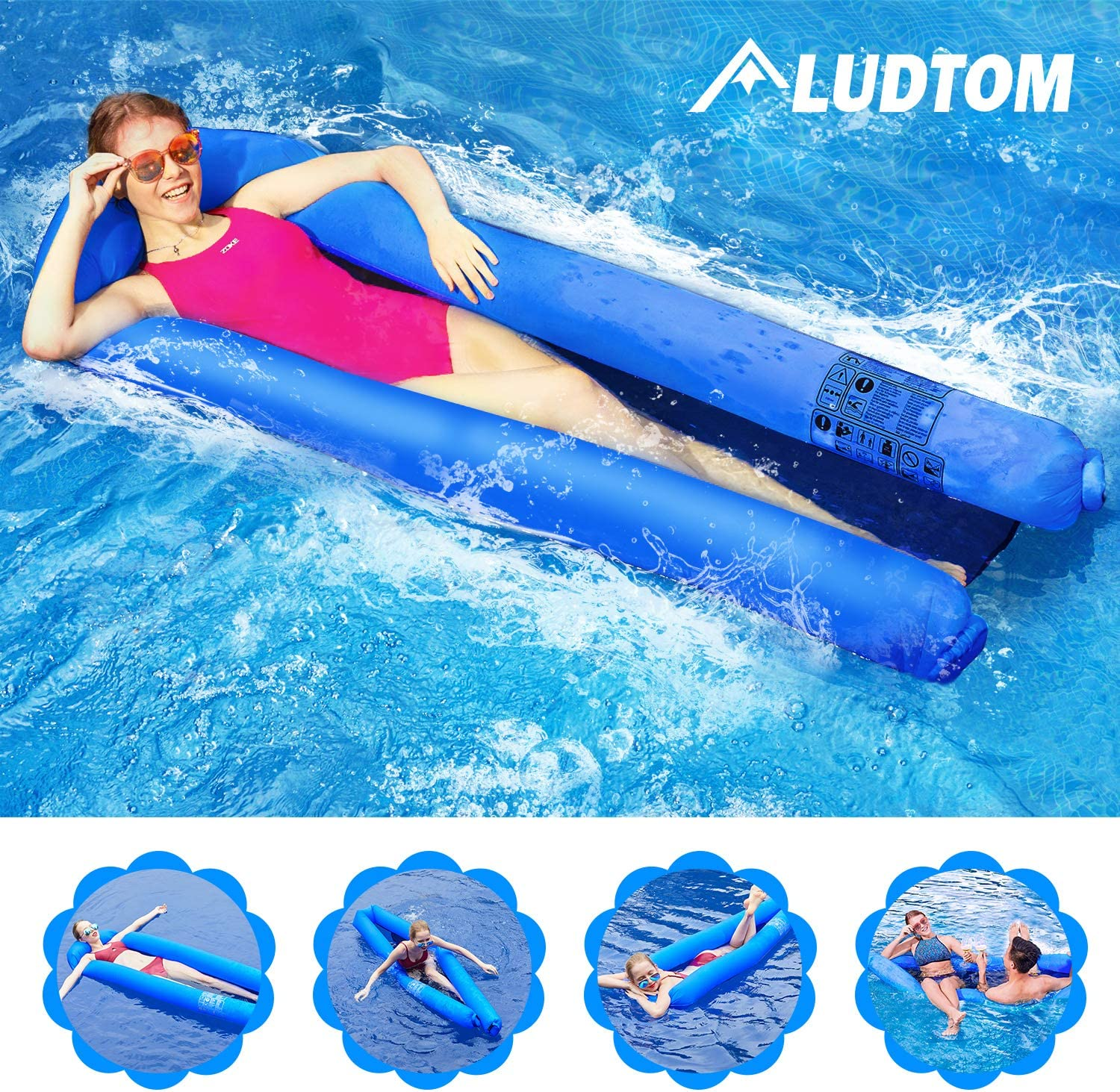 Duo Twin Pool Float