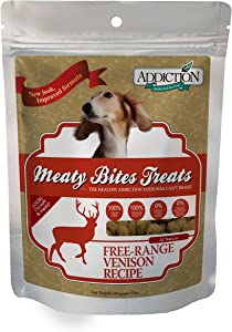 Addiction Meaty Bites, All Natural Grain Free High Meat Made in New Zealand Dog Treats