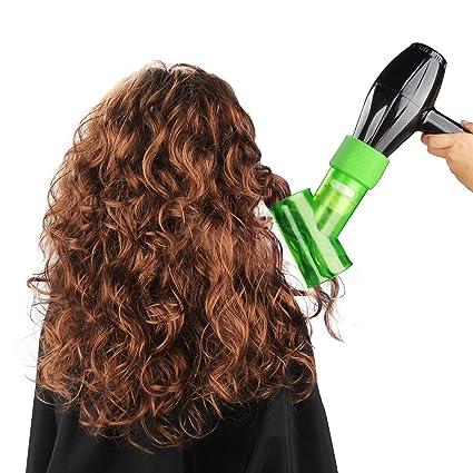 Difusor de pelo para secador de pelo rizado, ondulado y permanente, accesorio mágico