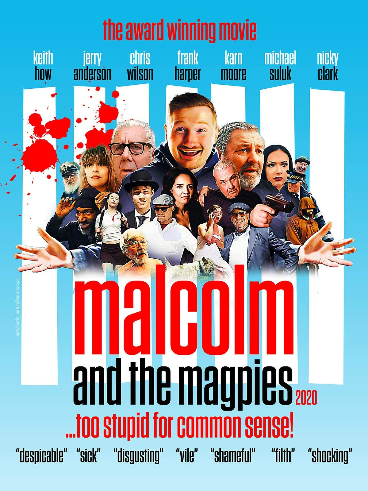 Malcolm and The Magpies 2020 on Amazon Prime Video UK