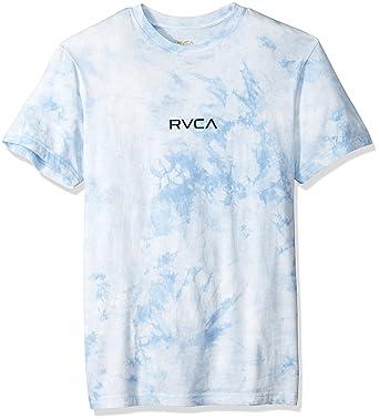 34ed470950ef3 RVCA Men's Center Short Sleeve Lite Tie Dye T-Shirt