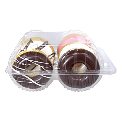 Just Dough It Assorted Box of 6 Donuts 3''D Replica Prop: Home & Kitchen