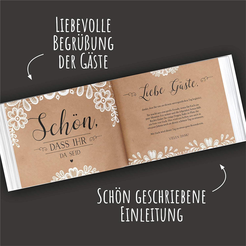 Gaestebuch Hochzeit Einleitung Lustig