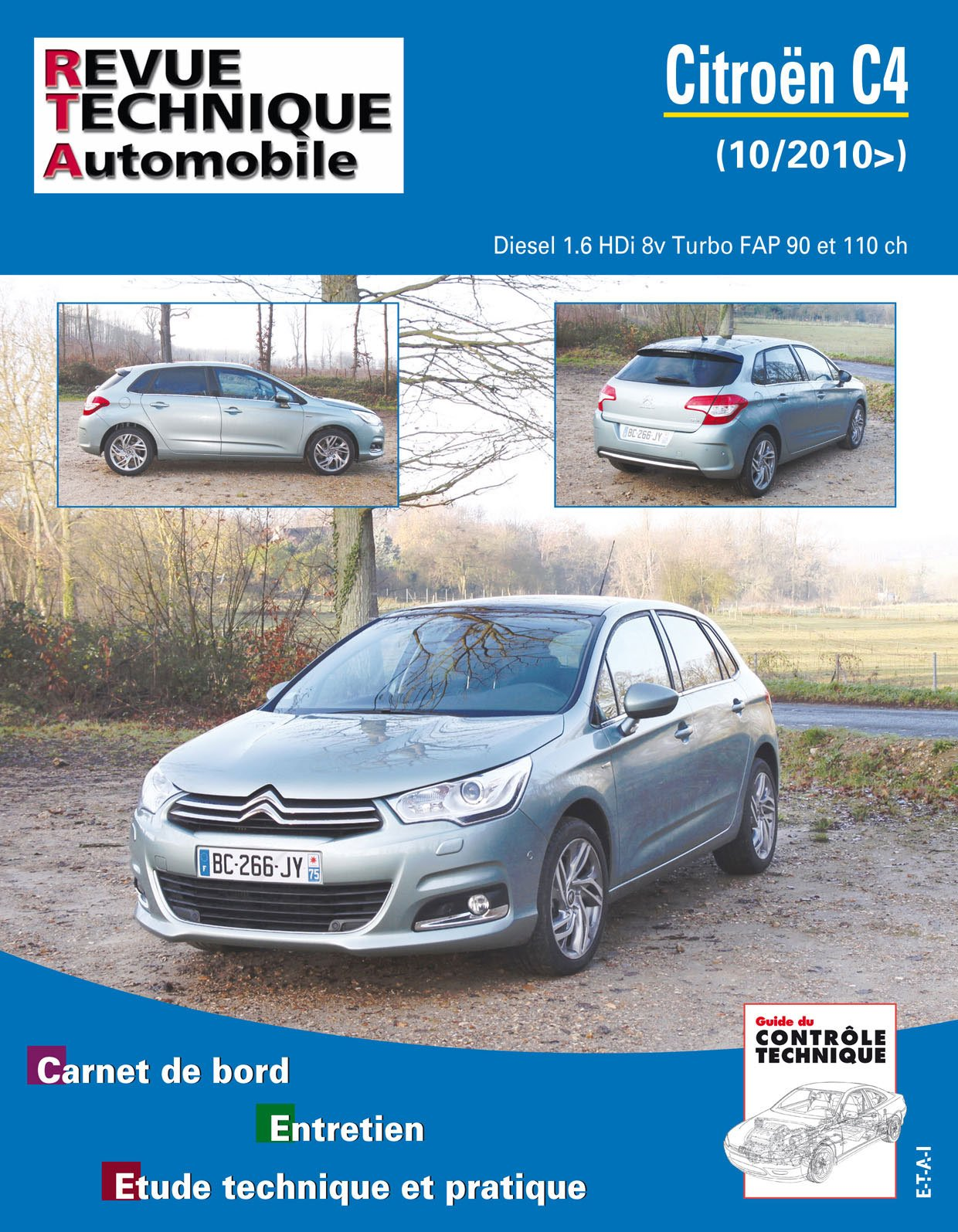 Rta b759 Citroën c4 II 1.6 hdi 112/92 turbo 16v/8v: Amazon.es: Etai: Libros en idiomas extranjeros