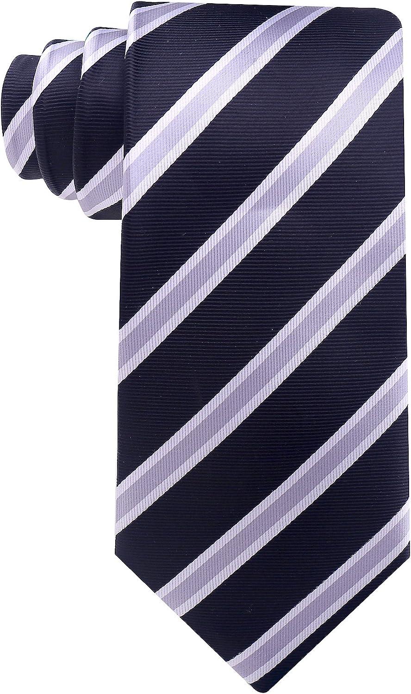 Men/'s White Striped 100/% Silk Wedding Ties Groom Party Neck Tie Necktie BP05