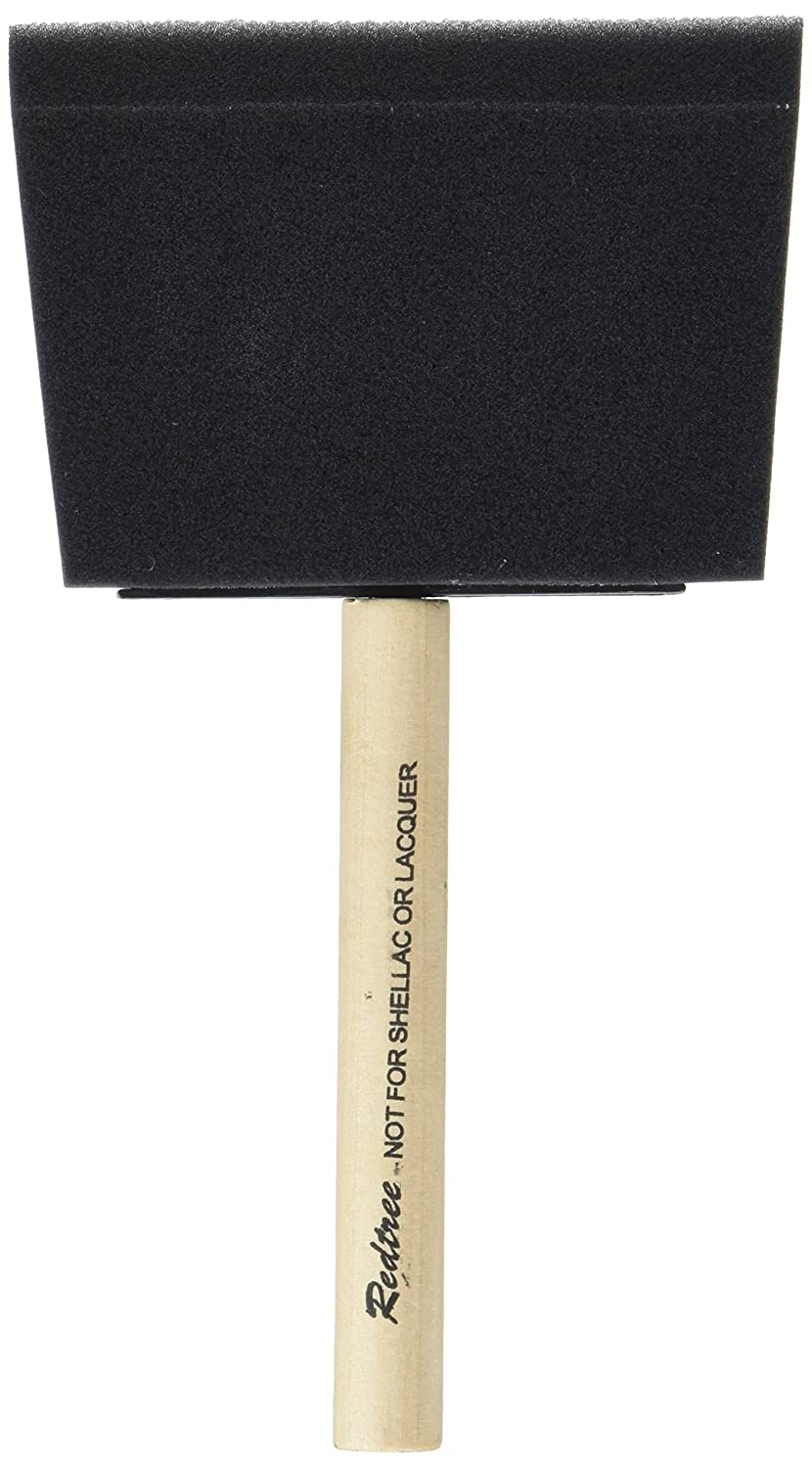 Redtree Industries 000081 Disposable Foam Paint Brush - 4