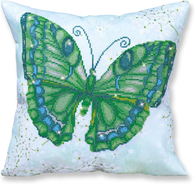 Diamond Dotz Dragonfly Earth Pillow 5D Diamond Painting Facet Art Kit