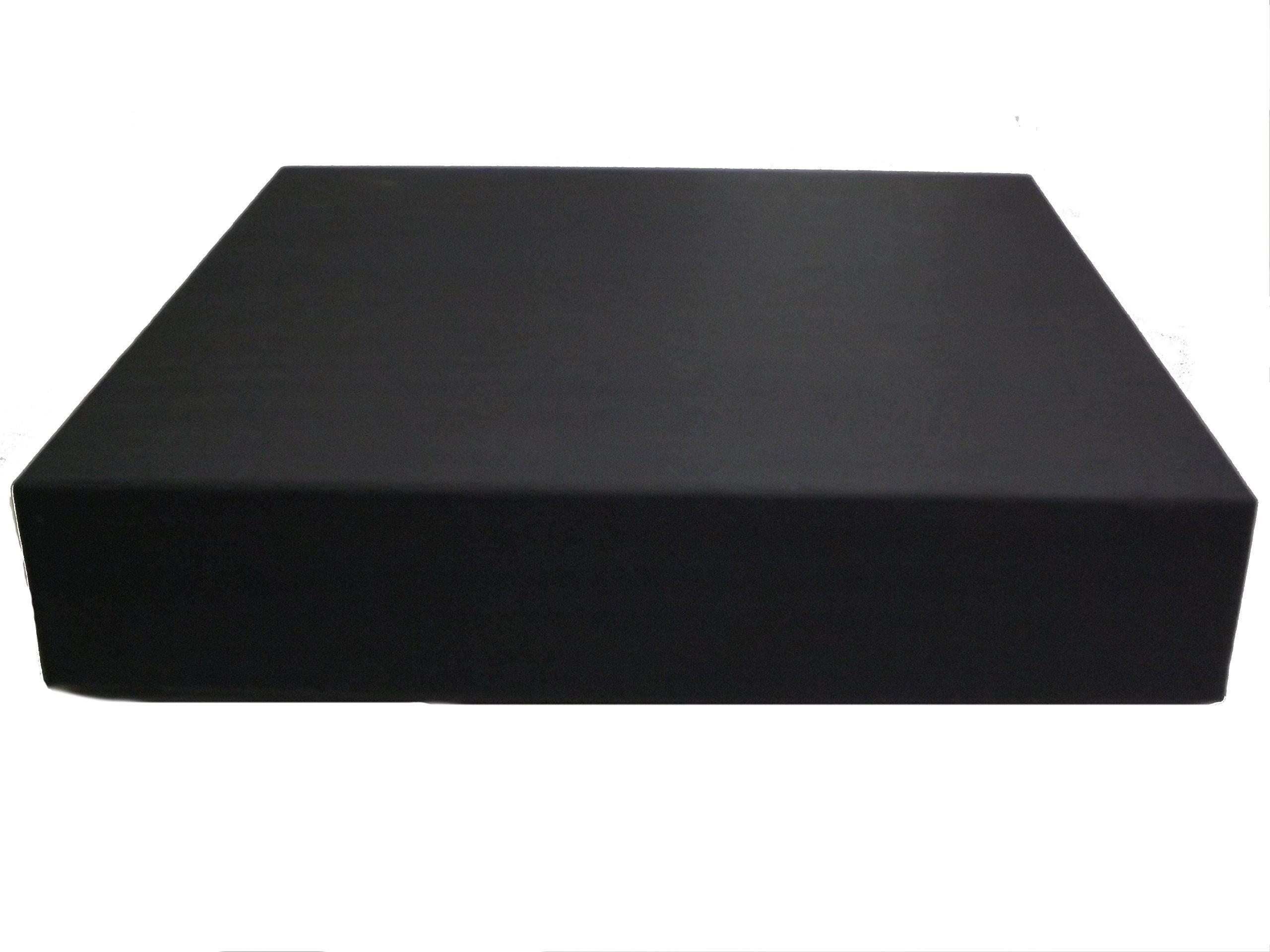 Showoff Albums 10X10 ALBUM BOX/GIFT BOX (2.5'' DEPTH), BLACK (SET OF 12)