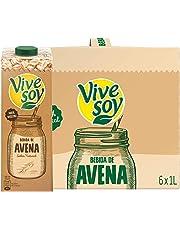 Vivesoy Bebida de Avena - Pack de 6 x 1000 ml - Total: 6000 ml