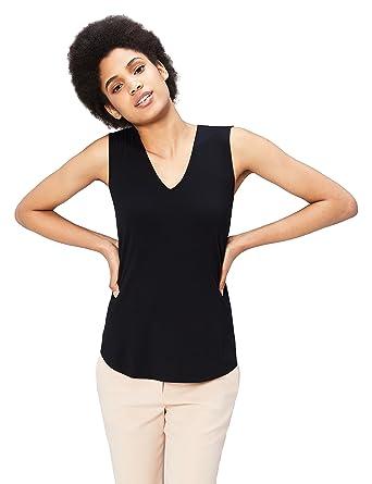 5c5c52c51b6eb6 Amazon.com  Daily Ritual Women s Jersey V-Neck Tank Top  Clothing