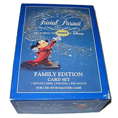 Trivial Pursuit Family Edition Card Set: Toys & Games