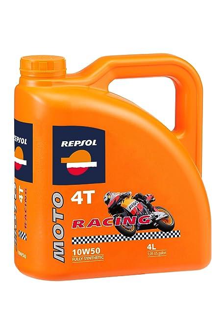 5 opinioni per Repsol moto Racing 4T 10 W50 Olio per