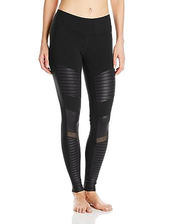 ALO Womens Moto Leggings Black Pants XXS X 28 at Amazon ...