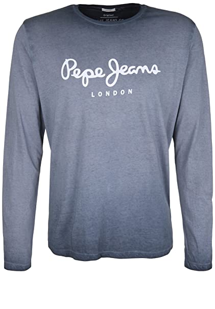 Pepe Jeans - Camiseta de Manga Larga - Básico - Manga Larga - para ...