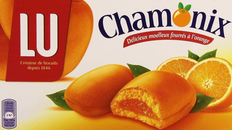 LU - Chamonix Orange - French Cookies Orange Filled - 20 Cookies