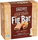 Nature's Bakery Whole Wheat Fig Bars - Peach - 6 ct