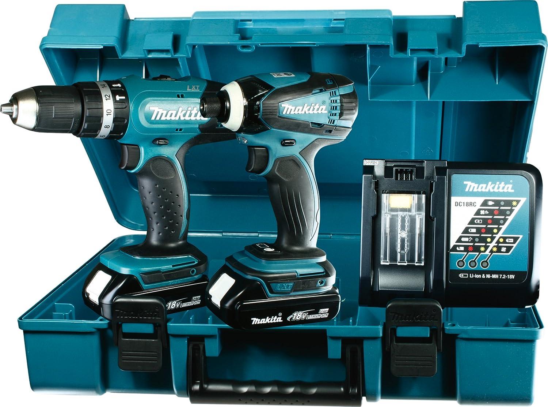 Makita DLXY Set de destornilladores eléctricos a batería V