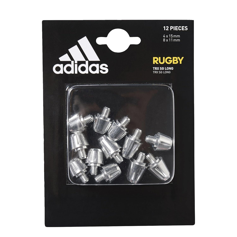 TRX SG Longs 11mm & 15mm - Crampons de Rugby Argent/Aluminium ADIFO|#adidas BP7976