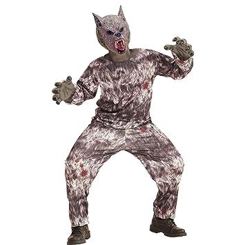 WIDMANN - Disfraz de hombre lobo para niños: Amazon.es: Juguetes y ...