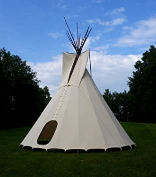 Ø 3 m 102 ft Tipi Indian tent tepee teepee Wigwam Larp reenactment Yurt & Ø 3 m 102 ft Tipi Indian tent tepee teepee Wigwam Larp ...