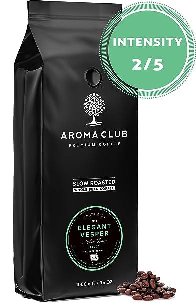Aroma Club Café en Grano 1 kg - Medium Roast Elegant Vesper – Café 100%